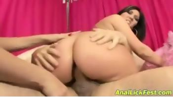 Claire Dames i anal trekant 2